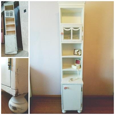 Rózsás fiókos szekrény - -mi mindent lehet kihozni egy-egy régi darabból!