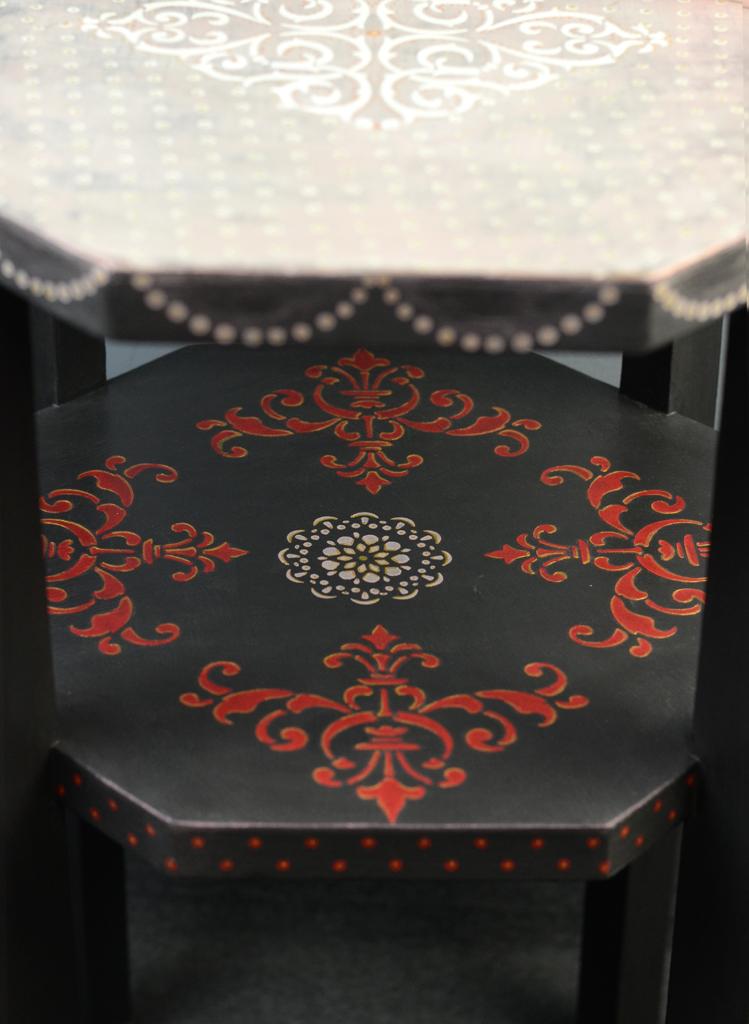 selyemfény műhely festett bútor