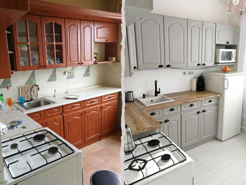 Első lakás, első konyhafestés – Dalma konyhája