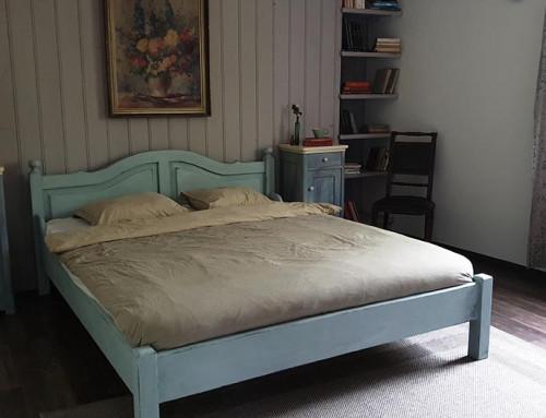Svenska Blue a hálószobában