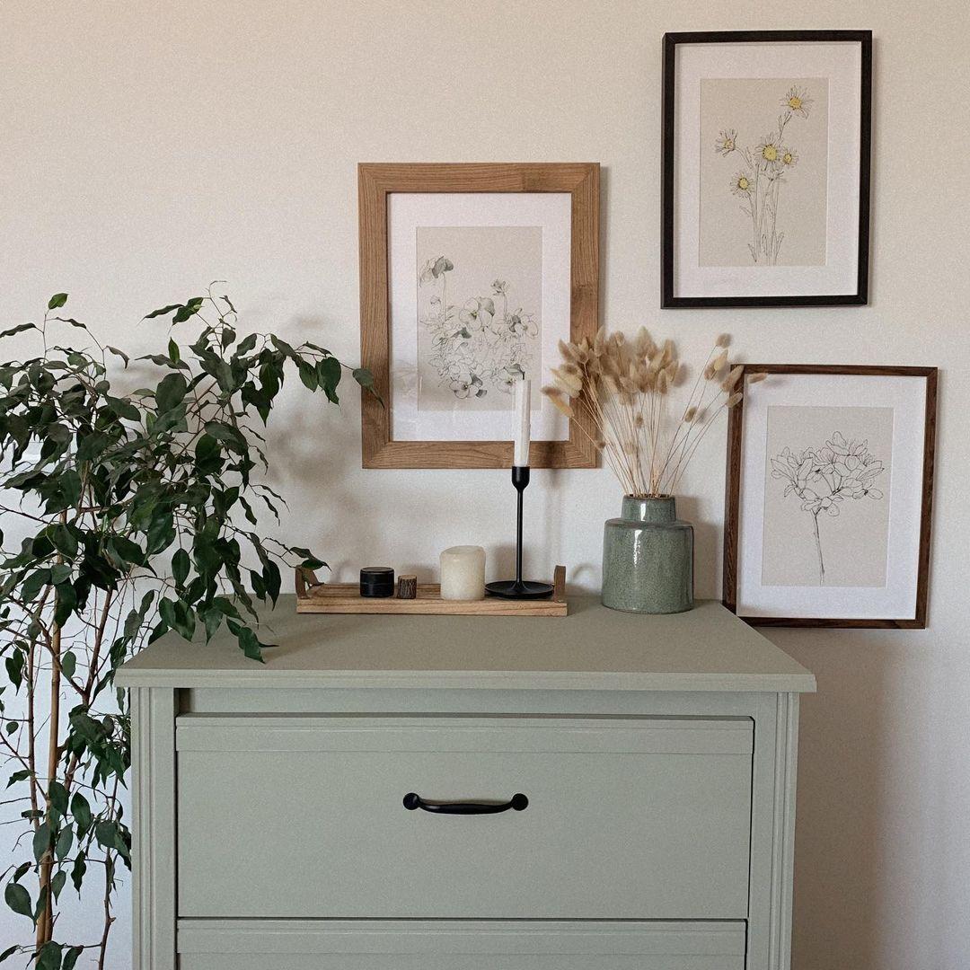 Gyönyörű bútorfestés egy kreatív anyukától
